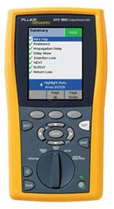 Сертифицирующий кабельный анализатор DTX CableAnalyzer™ Fluke